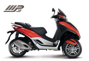 Piaggio MP3 Motorscooters
