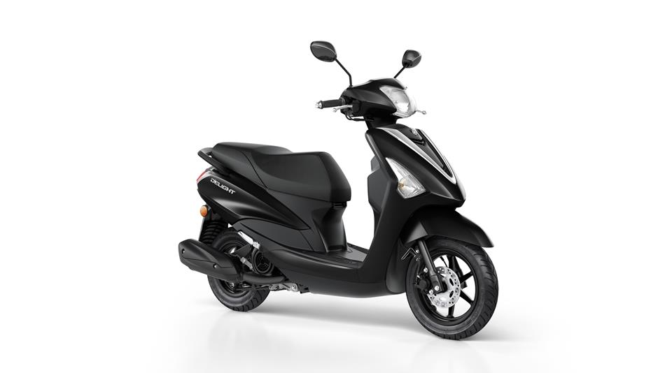 yamaha d 39 elight 125 een echte stadsscooter motor city. Black Bedroom Furniture Sets. Home Design Ideas