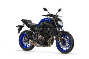 2018 Yamaha MT-07 Race blu