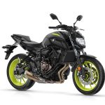 2018 Yamaha MT-07 Night Fluo